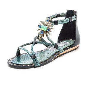 🎊HP🎉 IVY KIRZHNER Basil Studded Ornament Sandals